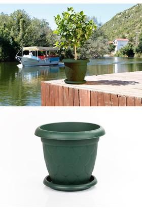 Mini Garden Mini Garden Damla Saksı 3,4 LT Yeşil