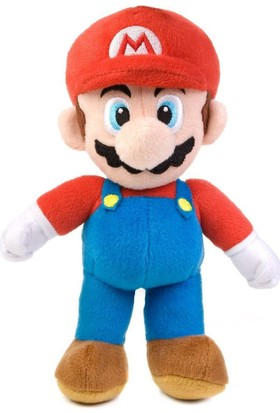 Supermario Peluş Süper Mario Oyuncak Peluş 23 Cm