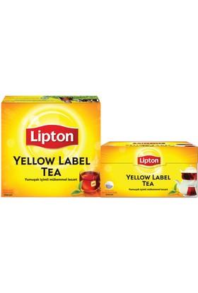 Lipton Yellow Label Süzen Poşet Çay 100'lü+Lipton Yellow Label Demlik Poşet Çay 100'lü