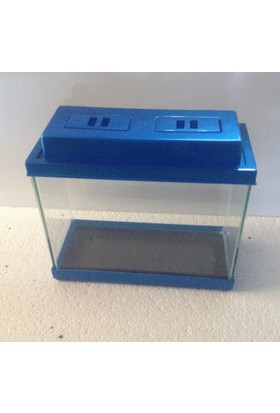 Kanki Pet Akvaryum Renkli Kapak 35 Cm ( 17 Litre )