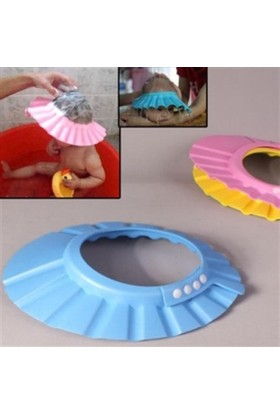 Hediye Paketim Bebek Banyo Şapkası -Düğmeli (Mindersiz)