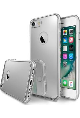 Ringke Mirror Fusion iPhone 7 Aynalı Kılıf Silver - Extra Darbe Emici