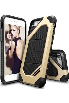 Ringke Max iPhone 7/8 Kılıf Royal Gold - Tam Koruma Isı Dağılımlı Şok Emici Teknoloji