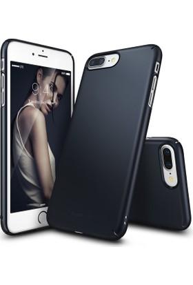 Ringke Slim iPhone 7/8 Plus Kılıf Metal Slate - 4 Tarafı Saran Tam Koruma İnce Şık Tasarım