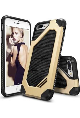 Ringke Max iPhone 7/8 Plus Kılıf Royal Gold - Tam Koruma Isı Dağılımlı Şok Emici Teknoloji