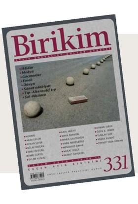 Birikim (Kasım 2016 Sayı:331)