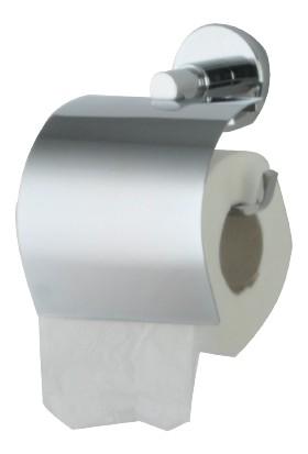 Çelik Banyo Saray Kağıtlık Kapaklı Krom