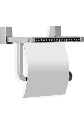 Çelik Banyo Swwor Kağıtlık Kapaklı