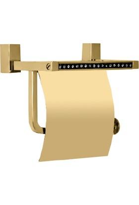 Çelik Banyo Swwor Kağıtlık Kapaklı Sarı