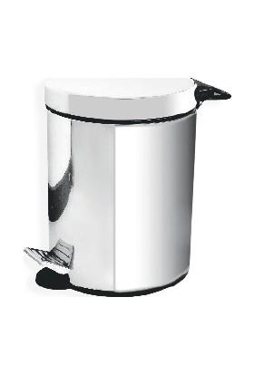 Çelik Banyo Pedallı Çöp Kovası 5 Lt