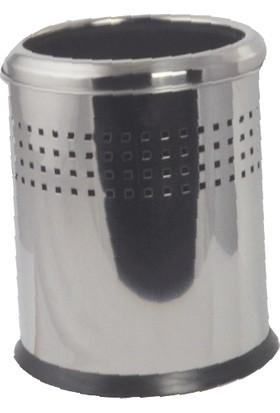 Çelik Banyo Acık Delıklı Çöp Kovası 12 Lt 430 Kalite