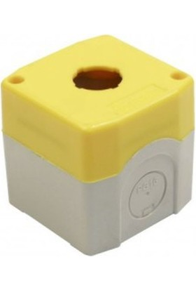 Bemis Sarı Tekli Acil Stop Buton Kutusu