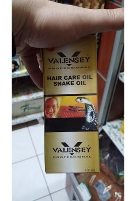 Valensey Yılan Yağlı Saç Bakım Yağı Doğal