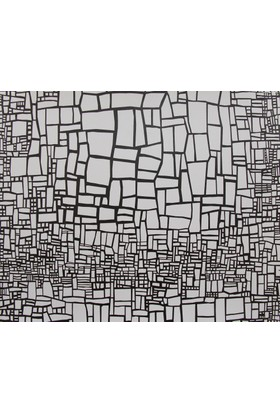 Mozaik Çizgili Duvar Kağıdı