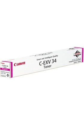Canon C-EXV-34 Kırmızı Orijinal Toner
