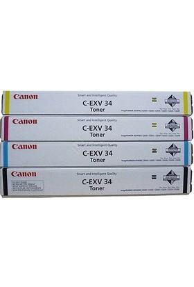 Canon C-EXV-34 Set Orijinal Toner