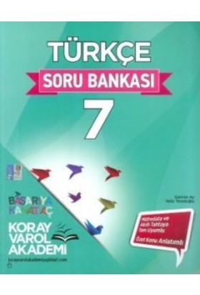 Koray Varol Akademi 7. Sınıf Türkçe Soru Bankası - Yeliz Tevetoğlu