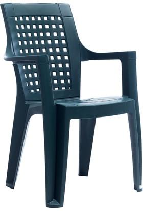 Gardelia Contract Elegance Klasik Sandalye - Koyu Yeşil
