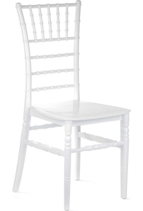 Tilia Tiffany Sandalye - Beyaz