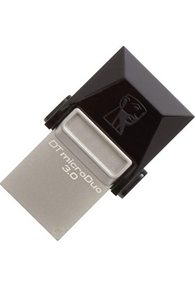 Kıngston 32 Gb Dt Micro Duo Usb 3.0 Ve Micro Usb Otg Dtduo3/32Gb