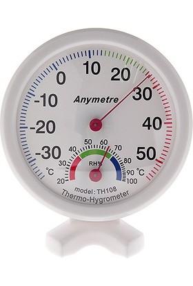 Anymetre Manuel Termometre Ve Nem Ölçer Higrometre Thr178