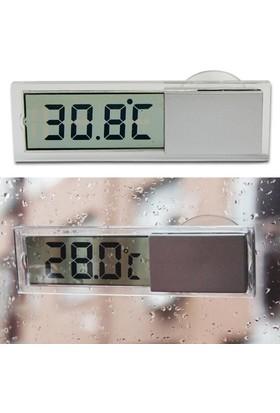 Araba Ve Camlar İçin Vantuzlu Digital Termometre Thr170