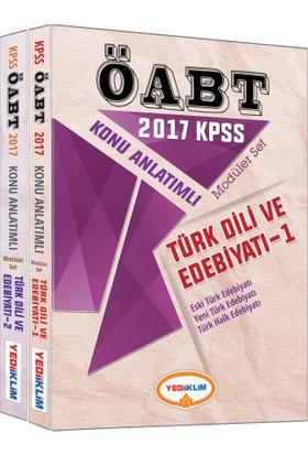 Yediiklim Yayınları Kpss 2017 Alan Bilgisi Türk Dili Edebiyatı Konu Anlatımlı Modüler Set