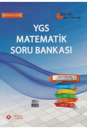 Sonuç Yayınları Ygs Matematik Soru Bankası