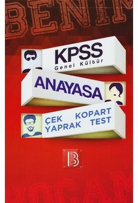 Benim Hocam Yayınları Kpss Genel Kültür Anayasa Çek Kopart Yaprak Test