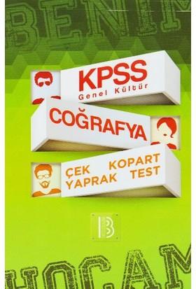 Benim Hocam Yayınları Kpss Genel Kültür Coğrafya Çek Kopart Yaprak Test