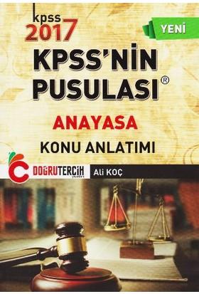 Doğru Tercih Yayınları Kpss'Nin Pusulası Anayasa Konu Anlatımı