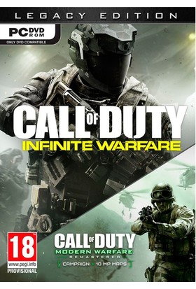 Activision Pc Call Of Duty Infinite Warfare Legacy Ed.