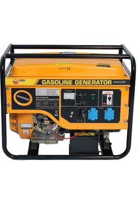 Saro SR6500 E Benzinli Jeneratör 6 kVa