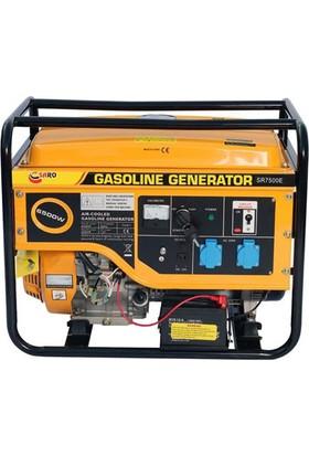 Saro SR7500 E Benzinli Jeneratör 7 kVa
