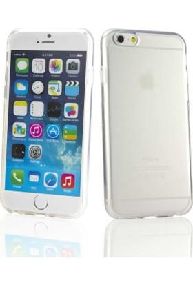 Case Apple iPhone 6 Plus (5.5) Şeffaf TPU Silikon Kılıf