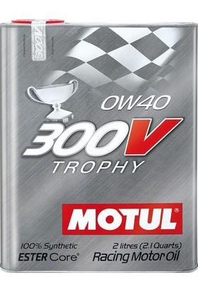 Motul 300V Trophy 0W-40 2 litre Motor Yağı ( Üretim Yılı: 2020 )