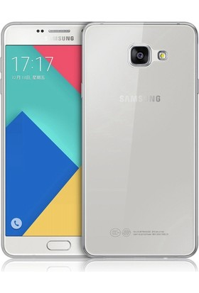 İmpashop Samsung Galaxy A3 2016 Silikon Kılıf Ultra İnce Kılıf