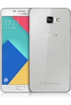 İmpashop Samsung Galaxy C5 Silikon Kılıf Ultra İnce Kılıf