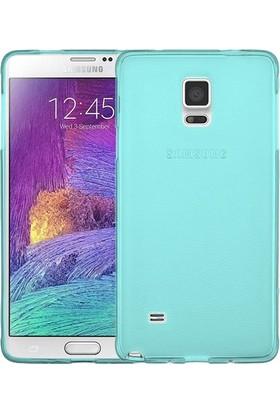 İmpashop Samsung Galaxy Note 4 Silikon Kılıf Ultra İnce 0.3Mm Kılıf