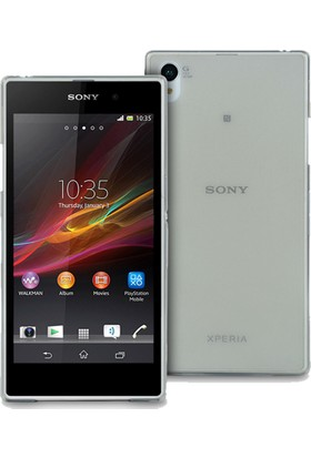 İmpashop Sony Xperia Z3 Silikon Kılıf Ultra İnce 0.3Mm Kılıf