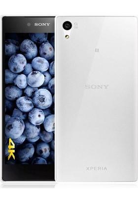 İmpashop Sony Xperia Z5 Silikon Kılıf Ultra İnce 0.3Mm Kılıf