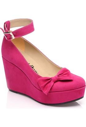 JustBow Gabriela JB-801 Kadın Platform Ayakkabı