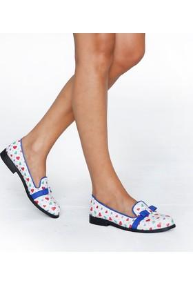 JustBow Virgin JB-312 Kadın Oxford Ayakkabı