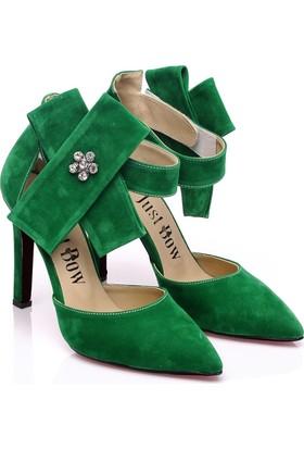 JustBow Amanda JB-553 Kadın Topuklu Ayakkabı