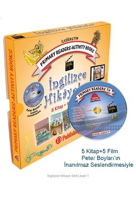 İngilizce Hikaye Seti 2 ve 3. Sınıf Level-1 5 Kitap 1 Cd