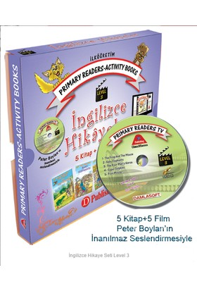İngilizce Hikaye Seti 4 ve 5. Sınıf Level-3 5 Kitap 1 Cd