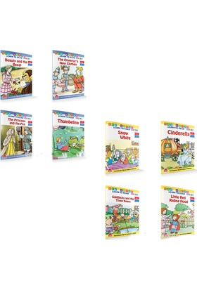 İlkokul Key Words Serisi Level 1 ve 2 8 Kitap
