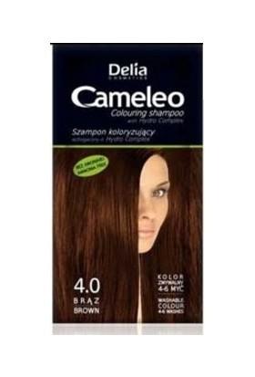 Delia Camelia Saç Renklendirici Şampuan Tek Kullanımlık 4.0 Brown 40 ml