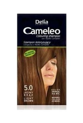 Delia Camelia Saç Renklendirici Şampuan Tek Kullanımlık 5.0 Light Brown 40 ml