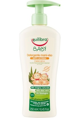 Equilibra Baby Detergente Mani-Viso Anti-Lacrima- El Yüz Temizliği 250 ml